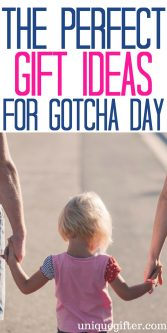Perfect Gift Ideas for Gotcha Day | Adoption Celebration Gifts | Adoption Finalization Gifts | What to get the day our new child comes home | Pickup from an orphanage gift ideas