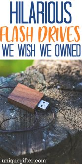 20 Hilarious Flash Drives We Wish We Owned