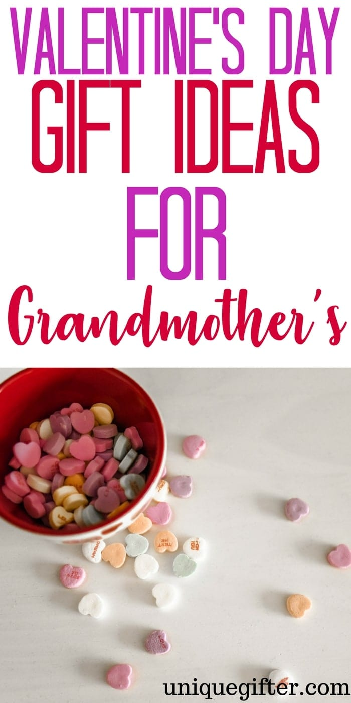 Valentine's Day Gift Ideas for Grandmothers   What to buy Nana for Valentine's Day   Fun grandparent gifts for Valentine's Day   Grannie Gift Ideas   Valentine's Day Presents for Granny   Gifts from the kids   Grandkid gift ideas