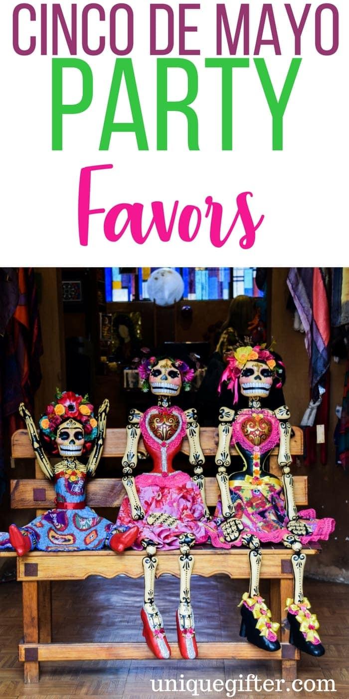 Fun Cinco de Mayo Party Favors | Tips for hosting a cinco de mayo party | Creative decor for a cinco de mayo party | Fun Ideas for Cinco de Mayo