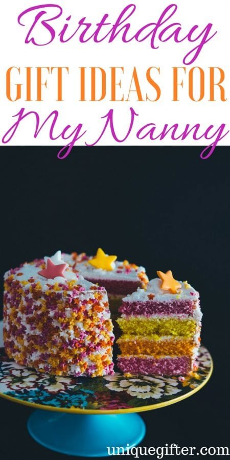 20 Birthday Gifts For My Nanny Or Au Pair