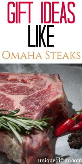 Gift Ideas for people who like Omaha Steaks | Foodie Gift Ideas | Fun gifts for people who like to grill | Grilling Gifts | Father Day Gift Ideas | Mother's Day Gift Ideas | Summer BBQ Inspiration | Steak Lover Gifts | Meat Lover Presents