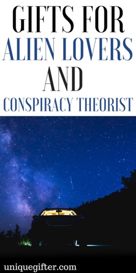 Gift Ideas for Alien Lovers and Conspiracy Theorists | I believe in aliens | Government Conspiracies | Joke Gifts | Flying Saucer gifts | Tinfoil hat theories | Birthday presents for conspiracy buffs | Christmas presents for people who believe weird things