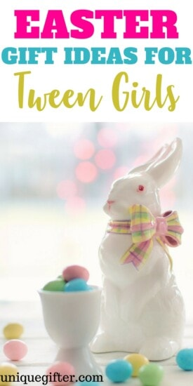 Easter Gift Ideas for Tween Girls   12 year old girl gifts for Easter   Creative Easter basket fillers   5th grade gifts   6th grade gifts   Easter Bunny Presents
