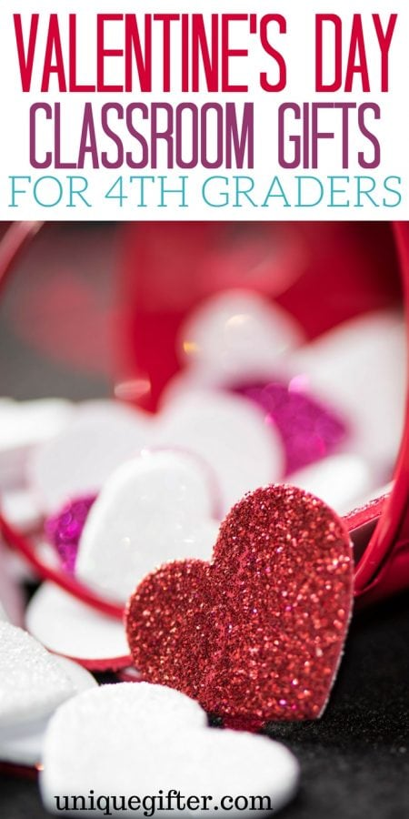 Valentine's Day Classroom Gifts for 4th Grade Students