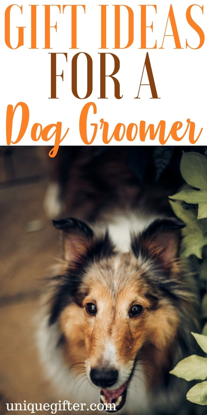 Gift Ideas for a Dog Groomer | How to apologize to a dog groomer | My dog hates grooming visits | Ways to thank a dog groomer | Dog Groomer Christmas Gift Ideas | Fun gifts for a dog groomer | Dog lover gift ideas