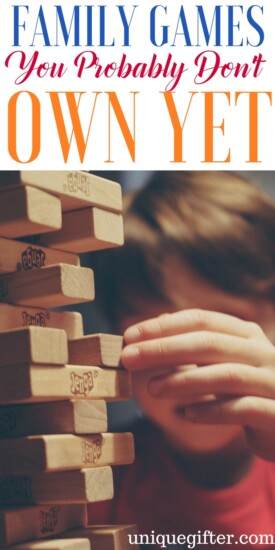 Family Games You Probably Don't Own Yet | Family Fun Ideas | Game Night Gifts | New Board Games | Gaming Ideas | Family Date Night Inspiration | Activities with Kids | Children's Entertainment | Cheap Adult Fun | Ways to have fun on a budget | frugal fun