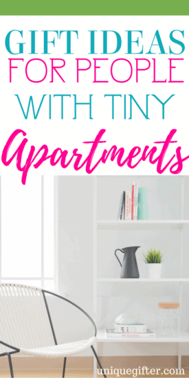 Gift Ideas for People with Tiny Apartments   What to buy someone with no space   Tiny house living gifts   What to buy a tiny house person   RV gift ideas   Fun gifts for RVers