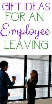 20 Gift Ideas for Employee Leaving