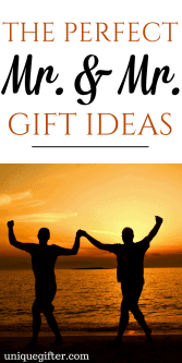 Mr & Mr Gift Ideas | Gay Anniversary gift ideas | Gifts for my partner | Valentine's Day Gift Ideas for Men | LGBTQ2A Gifts | LGBT Presents | Gay-Friendly gifts | Unique gifts for my boyfriend | Fun gifts for my husband | Cute Couples' Christmas Gifts