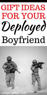 20 Gift Ideas for a Deployed Boyfriend