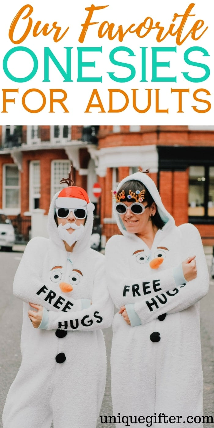 The BEST Adult Onesies | Fun onesie outfits for adults | What to buy my girlfriend for Christmas | Birthday presents for my boyfriend | Millennial gift inspo | #onesie love | Creative gifts | Fun winter gifts | Cozy present ideas | PJs that rock