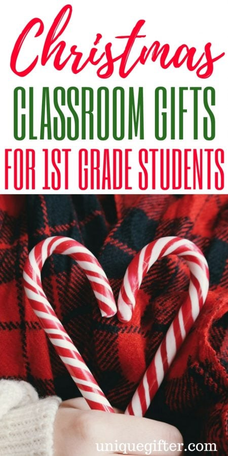 Christmas Classroom Gifts for 1st Grader Students