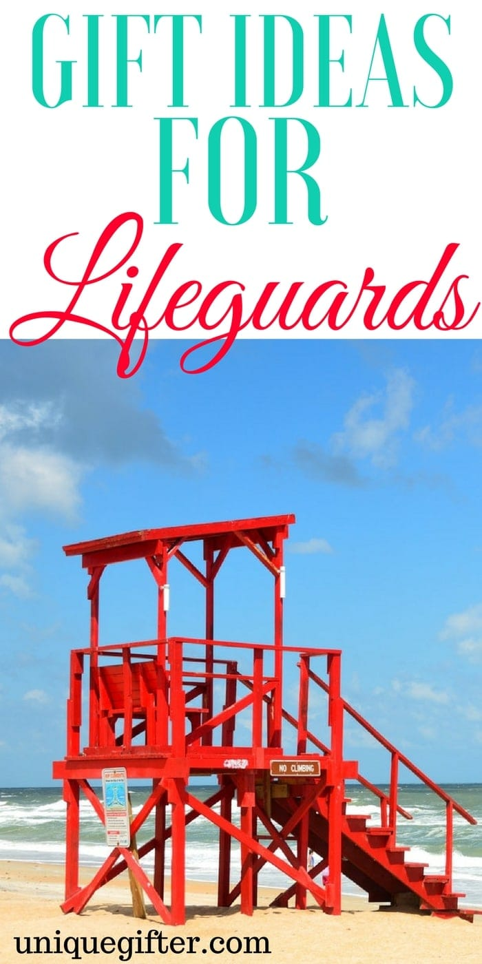 Gift Ideas for Lifeguards | Thank you presents for swimming instructors | Pool attendant gifts | Christmas presents for a Lifeguard | What to buy a Lifeguard