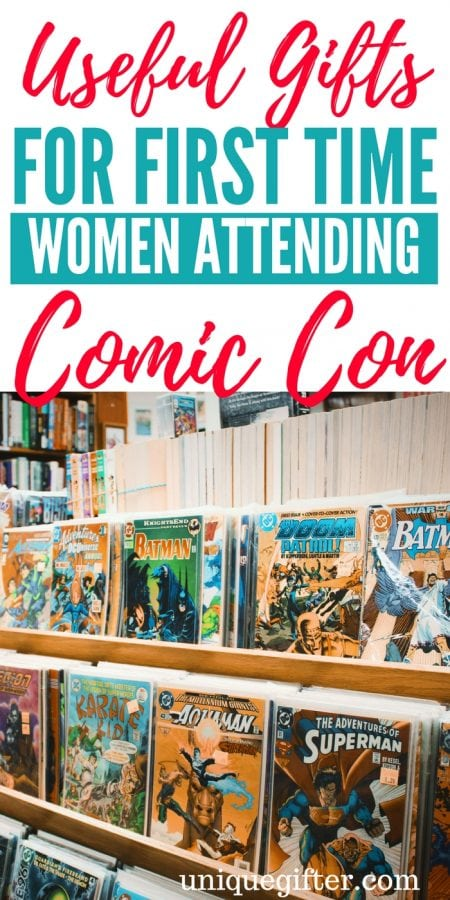 20 Useful Gifts for First Time Women Comic Con Attendees