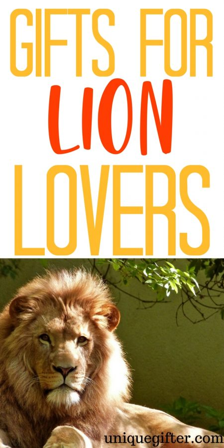 20 Gift Ideas for Lion Lovers