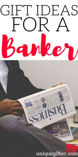 Gift Ideas for a Banker | Bank Teller Gift Ideas | Financial Advisor Christmas Presents | Adviser Gifts | Thank you gifts for a banker | What to buy a banker | Funny banking gifts | iBanker gifts