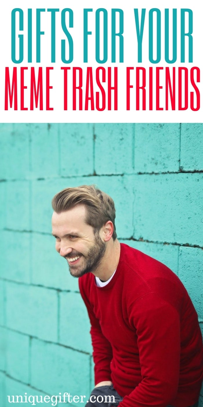 Gifts for your meme Trash Friends | Hilarious online jokes | what to buy a redditor | unique gifts for millennials | fun gifts for people who love memes | nick cage meme gifts | gag gifts for internet jokes | birthday gifts for geeks | Christmas presents for nerds | Nerdy & Geeky gift inspiration | gifts for my boyfriend | Gifts for my girlfriend | Crazy gifts