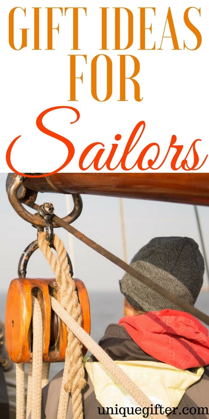 Gift Ideas for Sailors | What to buy someone who likes to sail | Gifts for cruisers | Birthday presents for dad | Christmas presents for mom | Yachting enthusiast gifts | Watercraft gifts | Boat themed gifts | Nautical presents