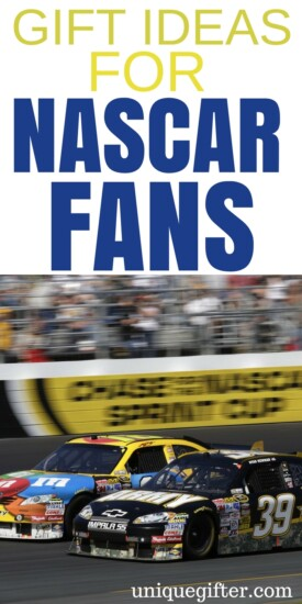 Gift Ideas for NASCAR Fans | Car Racing Gift Ideas | What to buy someone who loves Nascar | nascar accessories & decor | Nascar clothing | Fun car gifts | Birthday presents for men | Christmas presents for women | What to get my husband | What to buy my boyfriend | Presents for my wife | Gift Ideas for my girlfriend