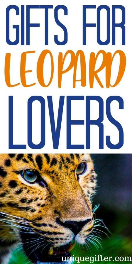 20 Gift Ideas for Leopard Lovers