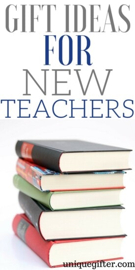 Gift Ideas for New Teachers | What to buy a new student teacher | Teacher's College graduation gift ideas | New school year gifts | What to buy a teacher as a present