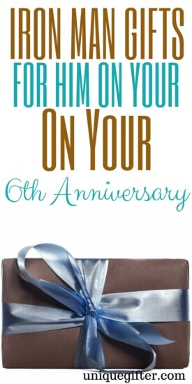 Iron Man Gifts for Him on your 6th Anniversary | Fun Anniversary Gifts for Men | What to buy my husband for our anniversary | Nerdy Anniversary Gifts | Geek Anniversary Presents | Comic Gifts | Superhero gift ideas | Creative birthday presents