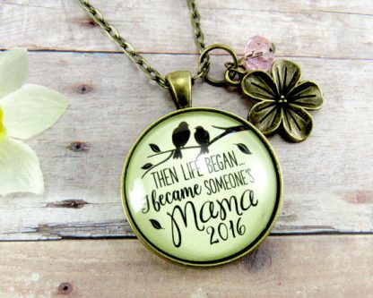 First mother's day gift ideas include this beautiful necklace.