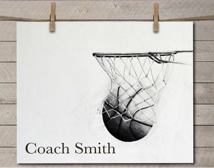 This gift ideas for gym teachers would look cool on their wall.