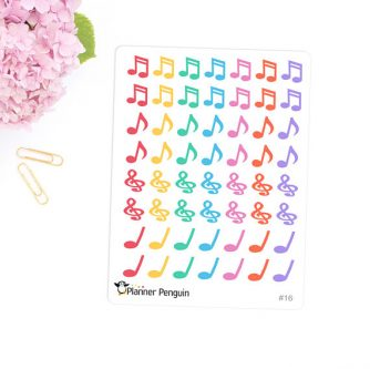 This gifts for a pianist would look cute in any planner.