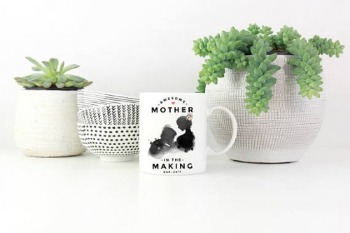 She knows she's awesome so grab her this first mother's day gift ideas.