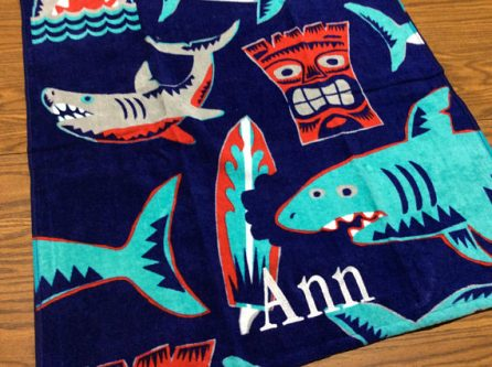 This gift ideas for shark lovers would be a fun one for the beach!