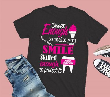 This gifts for dental hygienists will remind people she has skills for dayzzzz.