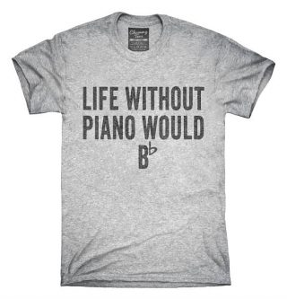 This gifts for a pianist is a punny one.