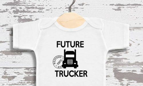 This father's day gifts for truck drivers would be perfect for any daddy to be.