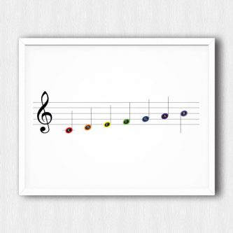 This gifts for a pianist would look cute in their teaching studio!