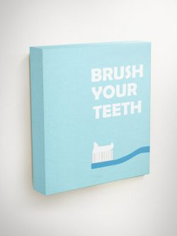 This gifts for dental hygienists will always remind their guests to brush brush brush!