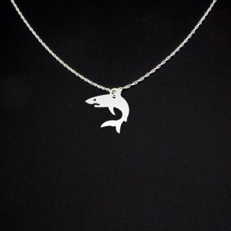 gGift ideas for shark lovers include this fun necklace.