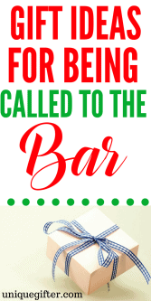 20 Gift Ideas for Being Called to the Bar