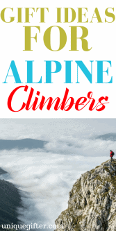 20 Gift Ideas for Alpine Climbers