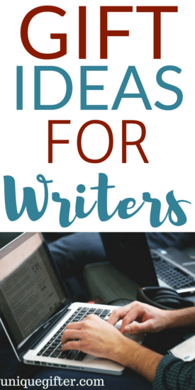 Gift Ideas for a Writer | Gifts for Writers | Fun gifts for journalists | Freelance writer gift ideas | Birthday presents for someone who loves to write | Christmas presents for a writer | Creative gifts for storytellers
