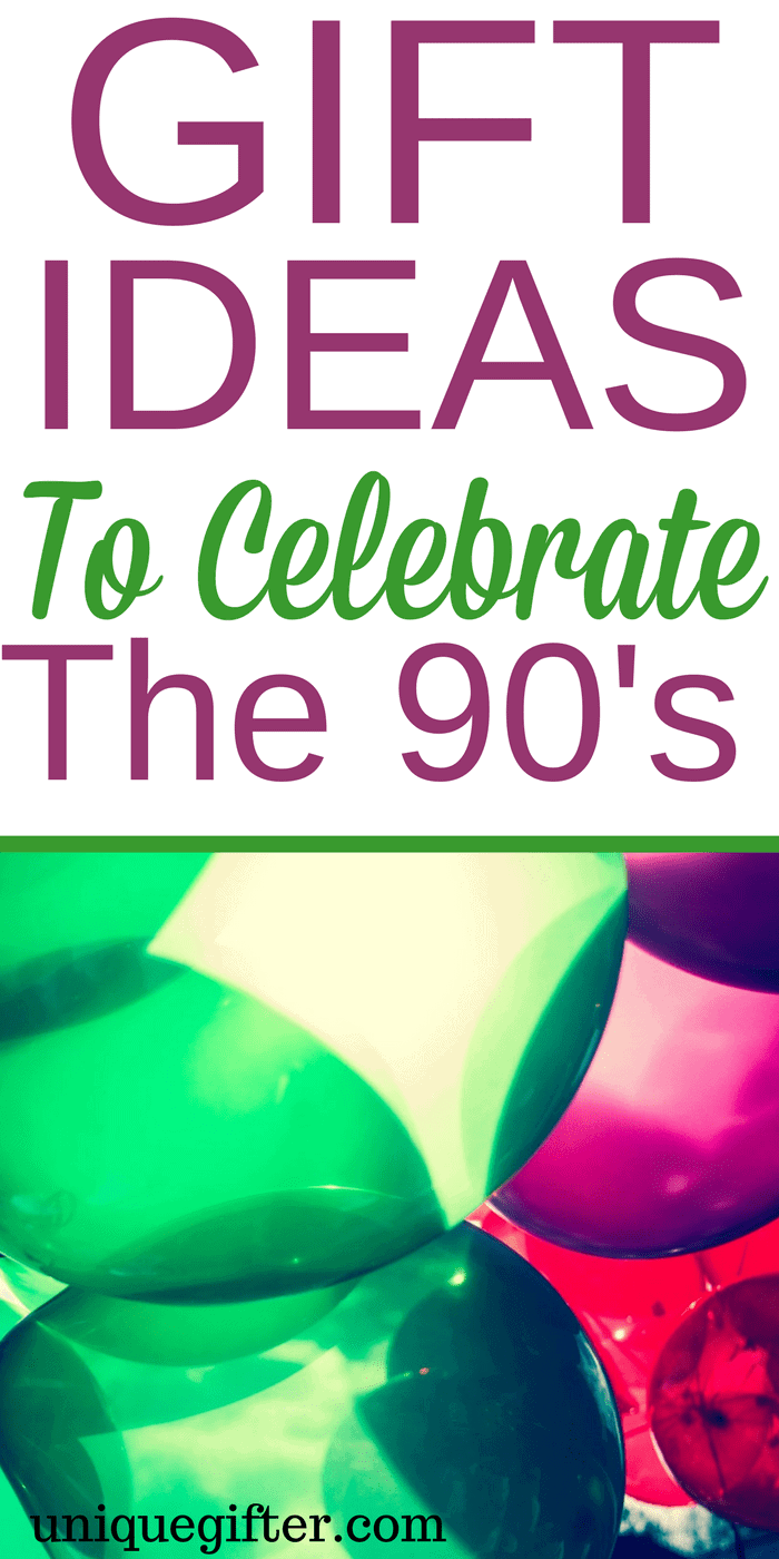 Gift Ideas to Celebrate the 90s | Best Decade Gifts | Throwback Thursday Ideas | Funny Gifts for 80s Babies | 90s Day | Inspiration for Millennial gifts | Birthday presents blast from the past