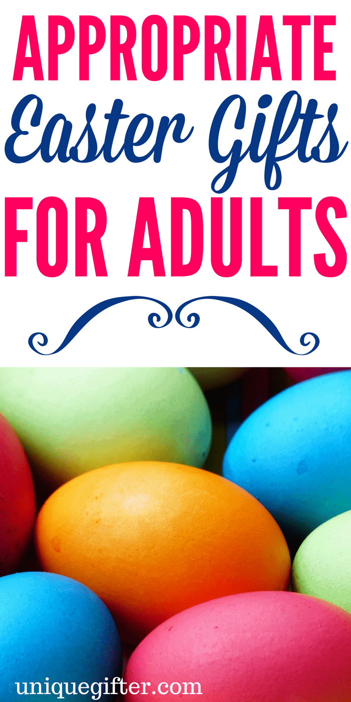 Appropriate Easter Gifts for Adults | Fun things to get my Mom and Dad for Easter | Easter Egg Hunt items for grandparents | What to put in an Easter basket for my parents | fun Easter presents for adults | Easter gift ideas for friends
