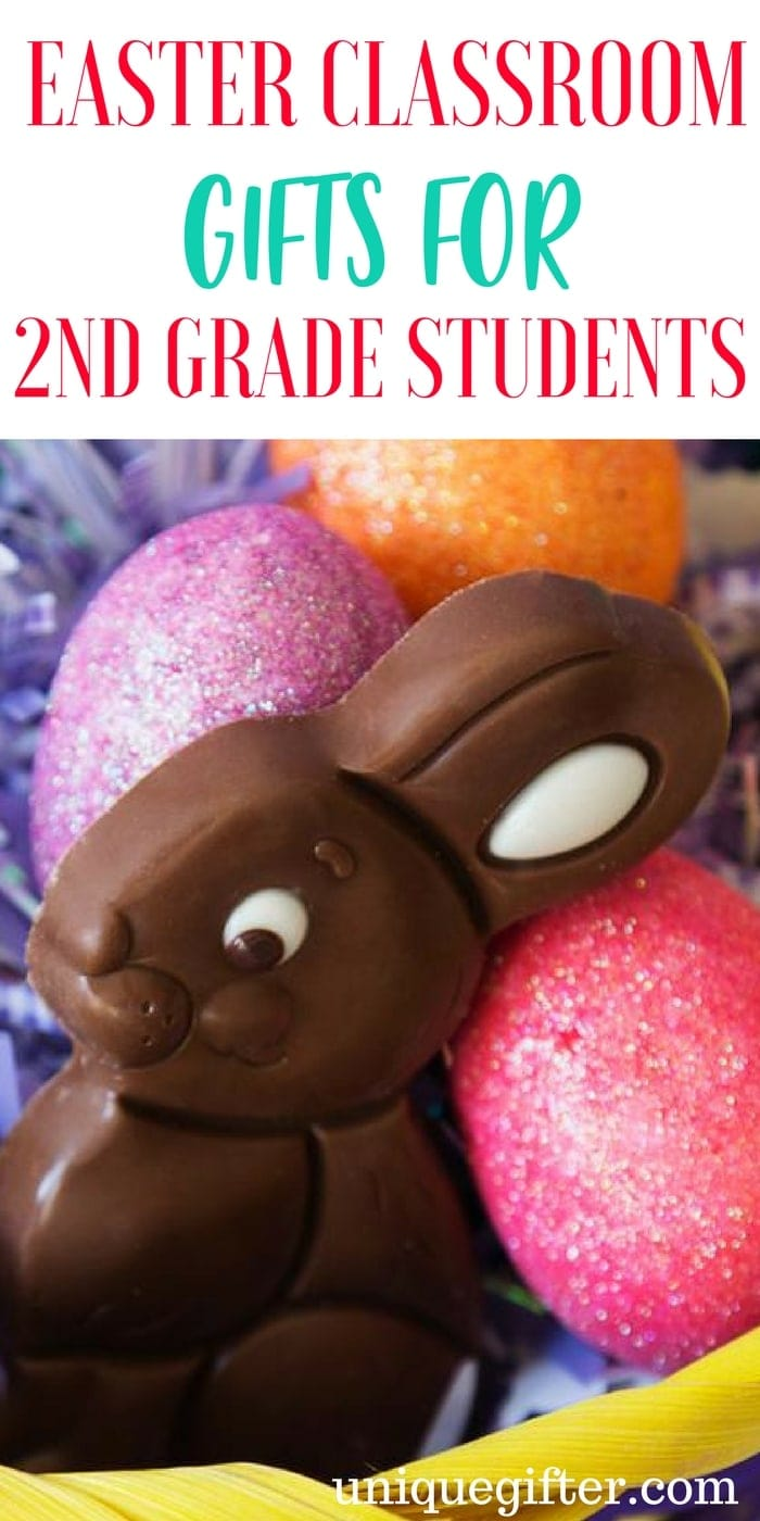 Easter Classroom Gifts for 2nd Grade Students | Gifts a teacher can buy for the whole class | What to buy my students for Easter | Cute and Cheap gifts for Second Graders | Easter egg hunt presents | Affordable Easter Ideas | Easter Egg Hunts in School | School gift ideas | Room Parent presents for Easter | Gifts for a teacher to buy their pupils | Grade Two