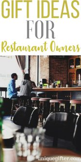 20 Gifts for Restaurant Owners