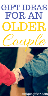 Gift Ideas for an Older Couple | Grandparent Gift Ideas | Gifts for my Parents | Fun presents for my neighbors | What to get an older couple that I know for Christmas | What to buy an older couple as an anniversary gift
