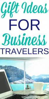 20 Gift Ideas for Business Travelers