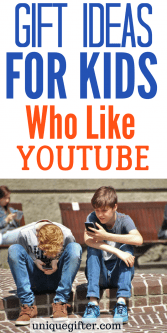 Gifts for YouTube Loving Kids