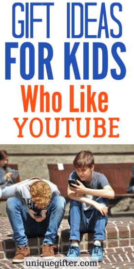Gift Ideas for Kids who like YouTube | Gifts for YouTube Loving Kids | Creative gifts for kids who like computers | Tween gift ideas | Birthday presents for teenagers | Christmas gifts for tweens | Online inspired gift giving
