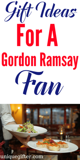 Gift Ideas for a Gordon Ramsay Fan | Gordon Ramsay Gift Guide | Hell's Kitchen Inspiration | Funny Kitchen Gadget | Weird Fan Gifts | Fine Dining Fun